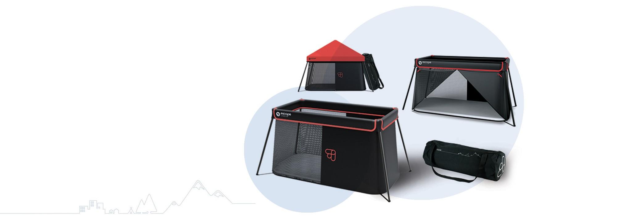 Umbrella bed for babies