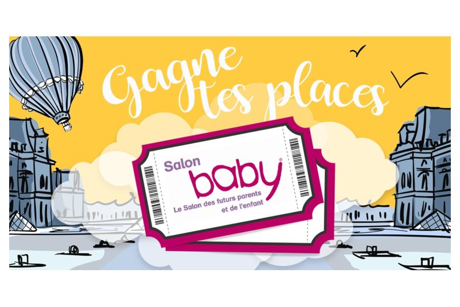 Gagnez vos place pour le Salon Baby à Paris