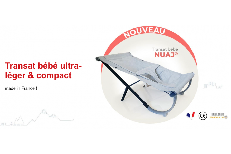 Launch of the new baby bouncer for the french days!